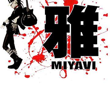 Miyavi Red Splash by Juka08