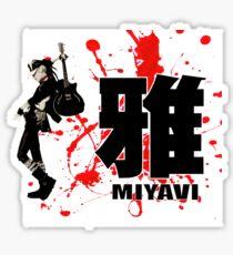 Miyavi Red Splash Sticker