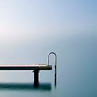 Jetty in Veyrier du Lac.....France by Imi Koetz
