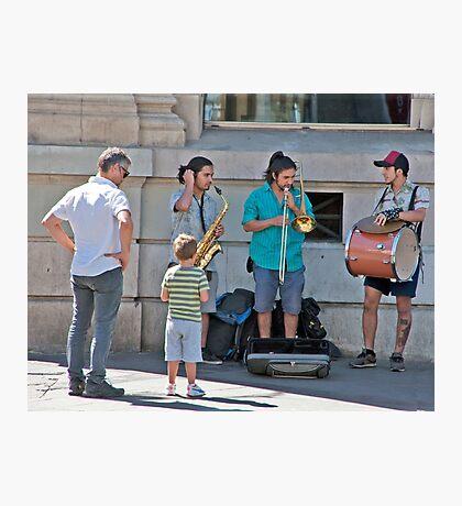Street Tunes Photographic Print