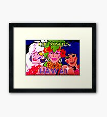 THE MISFITS IN  HAWAII Framed Print