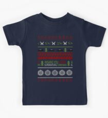 Supernatural Christmas Sweater Kids Clothes