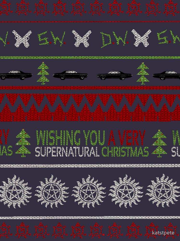 Supernatural Christmas Sweater | Long Sleeve