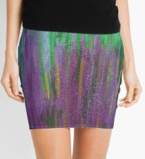 Abstract Abduction Mini Skirt