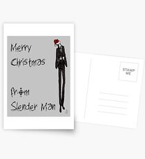 Slender Christmas Postcards