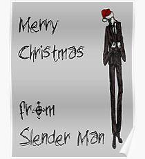 Slender Christmas Poster