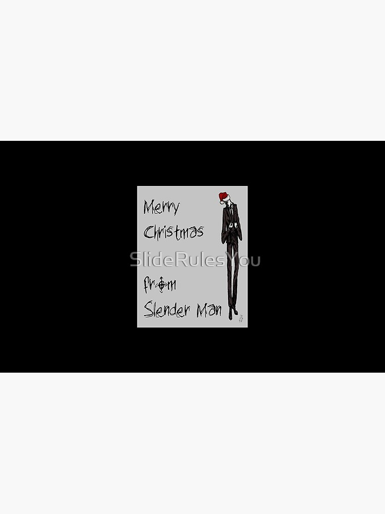 Slender Christmas by SlideRulesYou