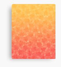 Ombre Orange Canvas Print