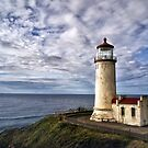 Guiding Light - Cape Disappointment, Washington by Kathy Weaver