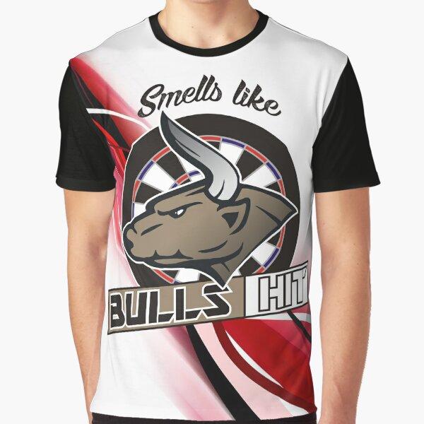 Smells Like Bulls Darts Team Graphic T-Shirt