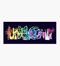 Senshi Rainbow Photographic Print