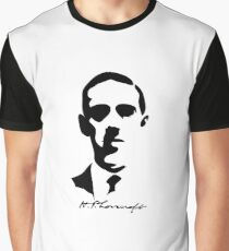 H.P. Lovecraft. Graphic T-Shirt