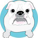 English Bulldog by Maria Bell