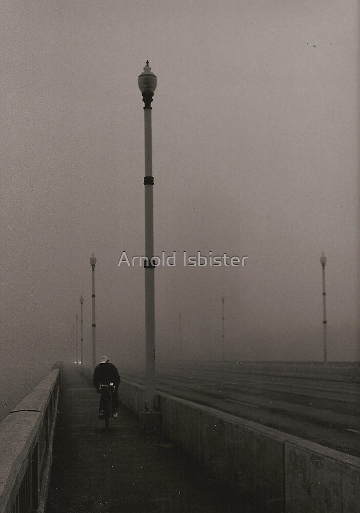 Cyclist by Arnold Isbister
