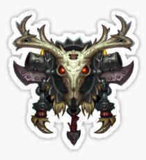 Hunter Crest Sticker