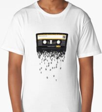 The death of the cassette tape. Long T-Shirt