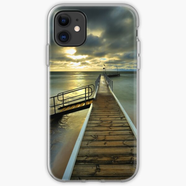 Imminent sunset at Safety Beach. iPhone Soft Case