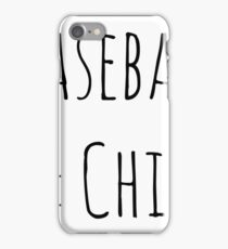 Baseball and Chill iPhone Case/Skin