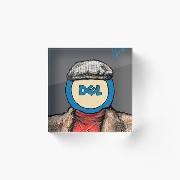 Del, 2014 Acrylic Block