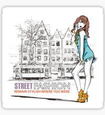 Street Fashion Sticker