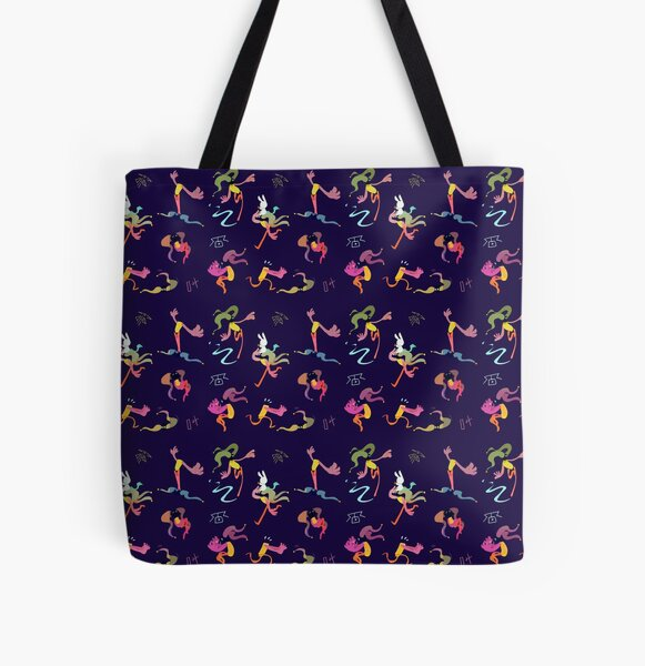 Bells pattern All Over Print Tote Bag