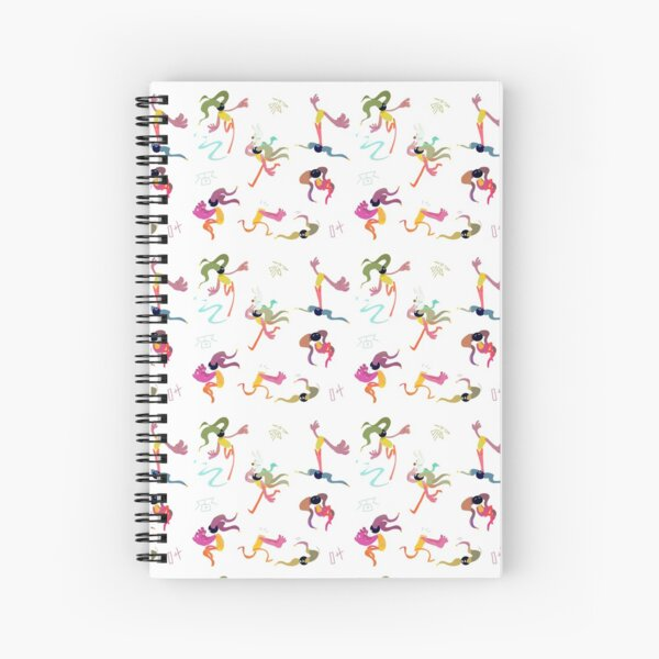 Bells pattern Spiral Notebook