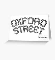 Oxford Street Greeting Card