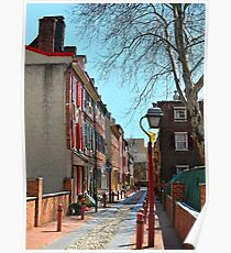 """""""Our Nation's Oldest Residential Street"""" Poster"""