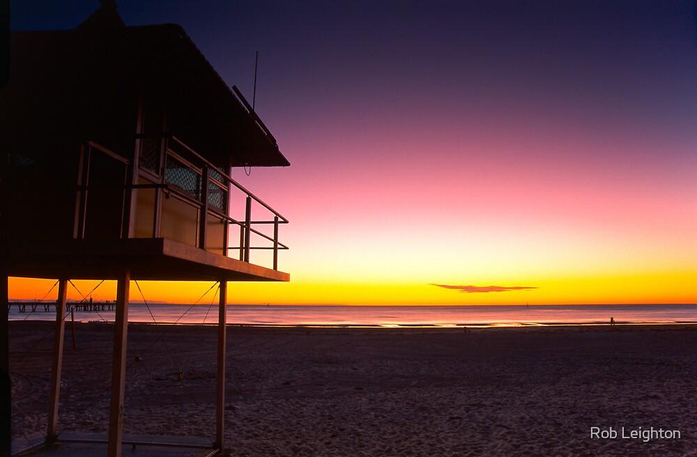 Glenelg Sunset by Rob Leighton