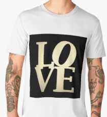 Love Park Philadelphia Sign Men's Premium T-Shirt
