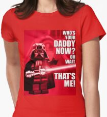 Who's Your Daddy? Women's Fitted T-Shirt
