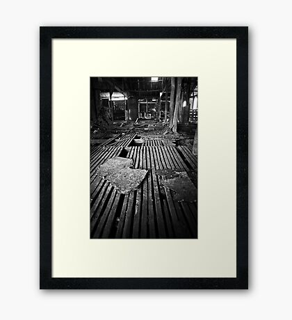 Wool Shed Framed Print