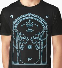 Speak Friend and Enter, The gates of moria Graphic T-Shirt