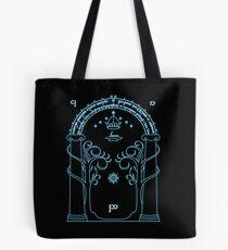 Speak Friend and Enter, The gates of moria Tote Bag