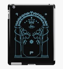 Speak Friend and Enter, The gates of moria iPad Case/Skin