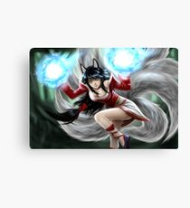 Ahri LOL Canvas Print