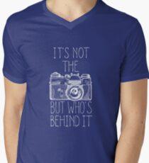 Camera white ink T-Shirt