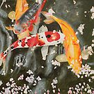 Japanese Koi by Saskia Huitema