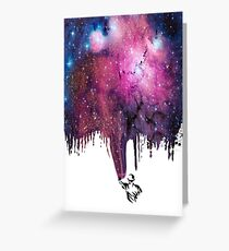 Painting The Universe Greeting Card