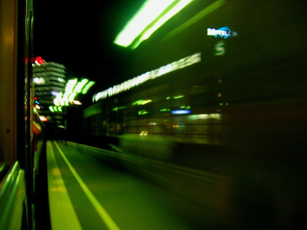 City by Train by Holls