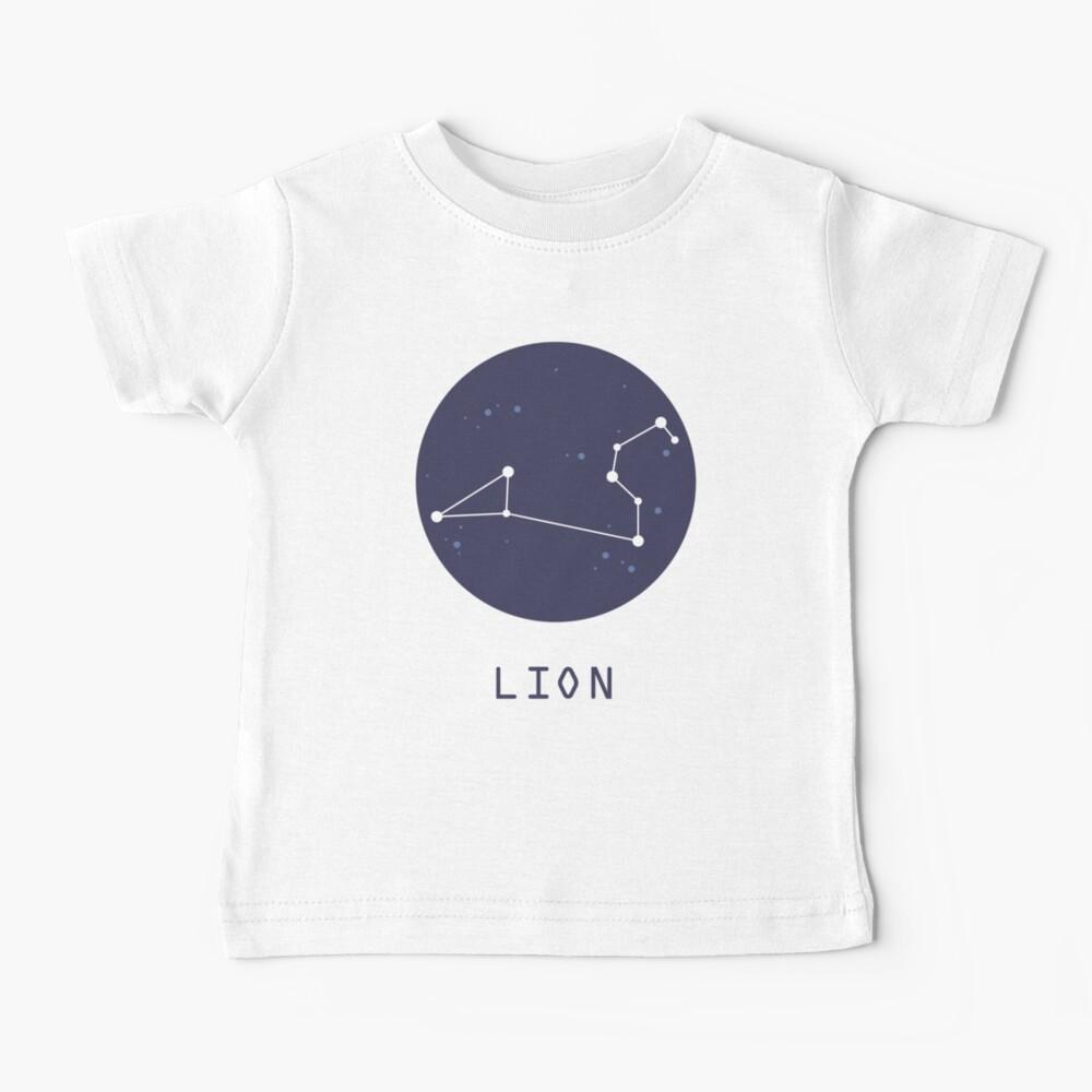Leo Constellation Baby T-Shirt