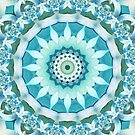 Aquamarine Mandala by Kelly Dietrich