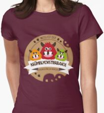 Krümelmonsterbande Womens Fitted T-Shirt