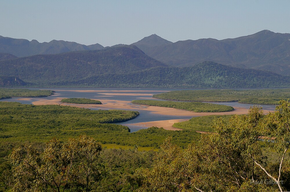 Hinchinbrook Channel, North Queensland. by Paul Gilbert