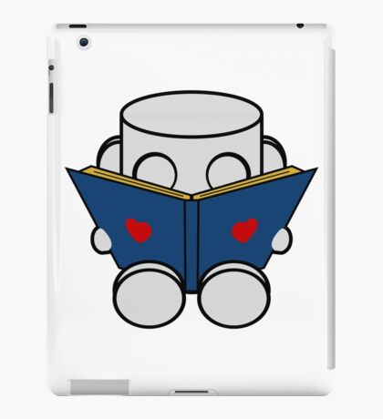 O'BOT: Love a Book iPad Case/Skin