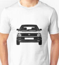 VW Golf MK2 Front T-Shirt