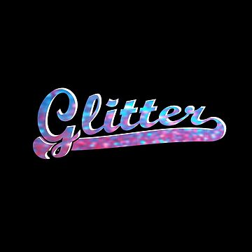 Vintage Glitter - BLUE & PINK by Moorean
