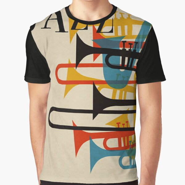 jazz Graphic T-Shirt