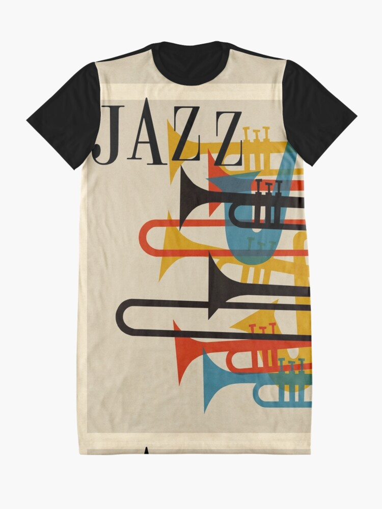 Alternative Ansicht von Jazz T-Shirt Kleid