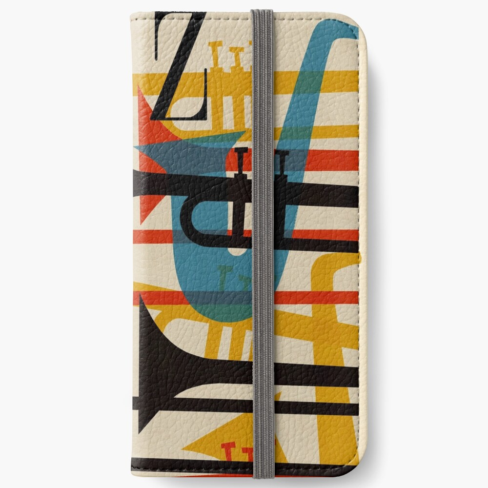 Jazz iPhone Flip-Case
